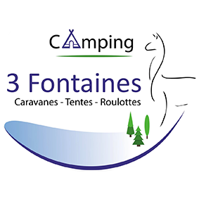 Camping 3 Fontaines logo